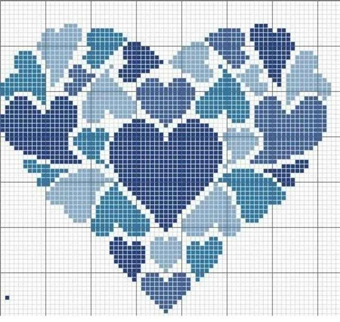 varios corações