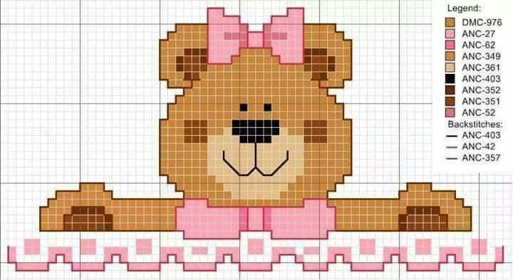 ursa com laço