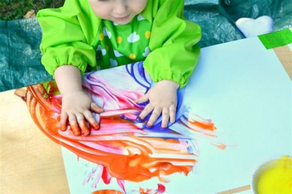 Pintura a mao