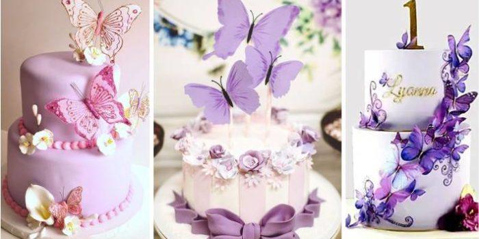 bolos de borboletas