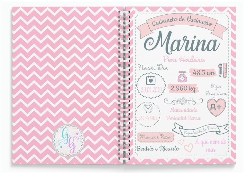 como fazer capa para caderneta de vacinação personalizada