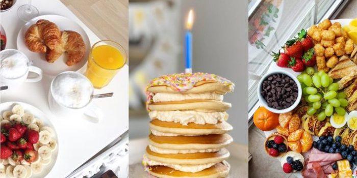 café de manhã super criativo