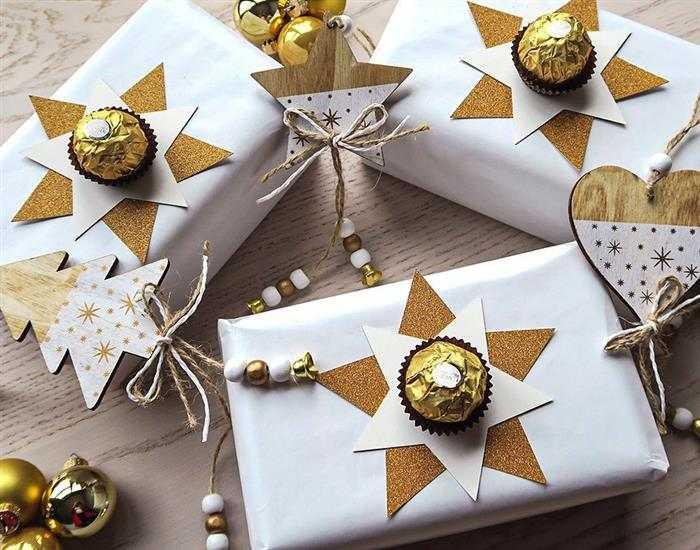 caixa de presente decoração de Natal 2021