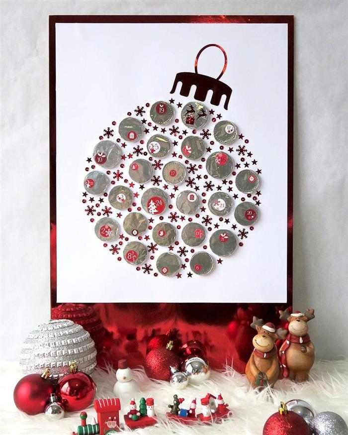 quadro para decoração de Natal 2021