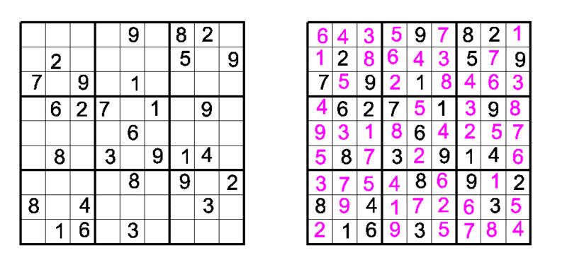 Sudoku com respostas