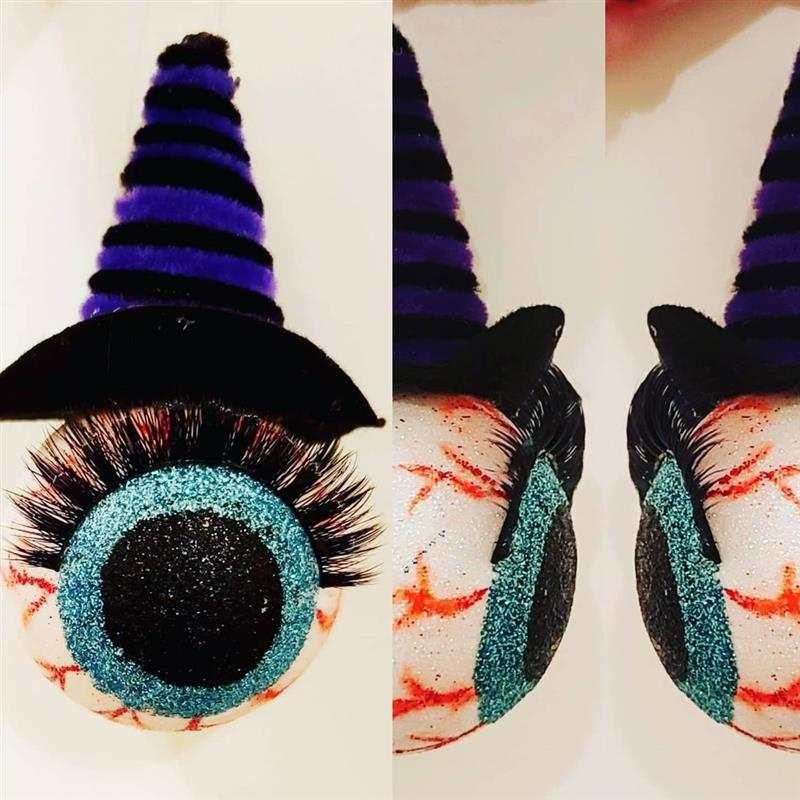 olho de bola de isopor