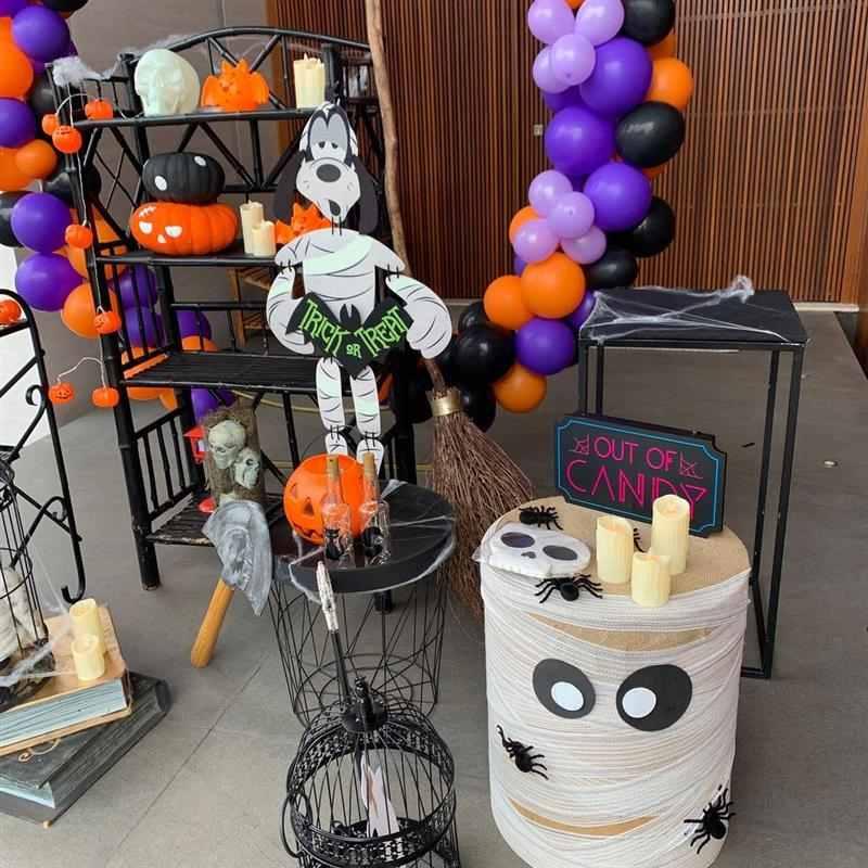 Festa infantil tema Halloween