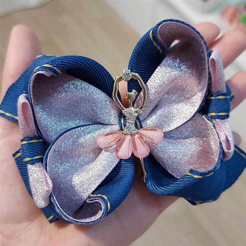 azul e rosa bailarina