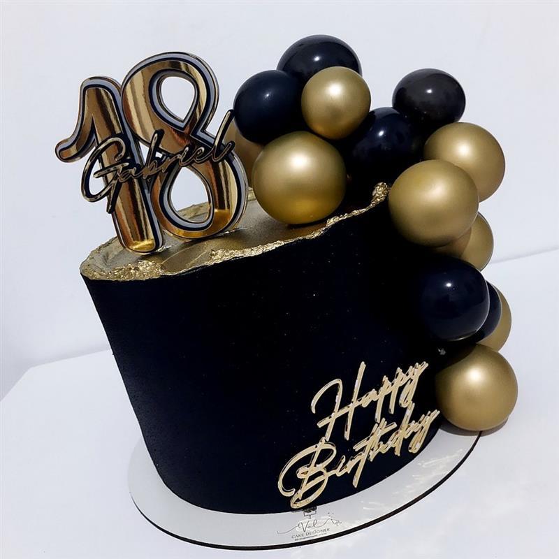 bolo de aniversario para homem 18 anos