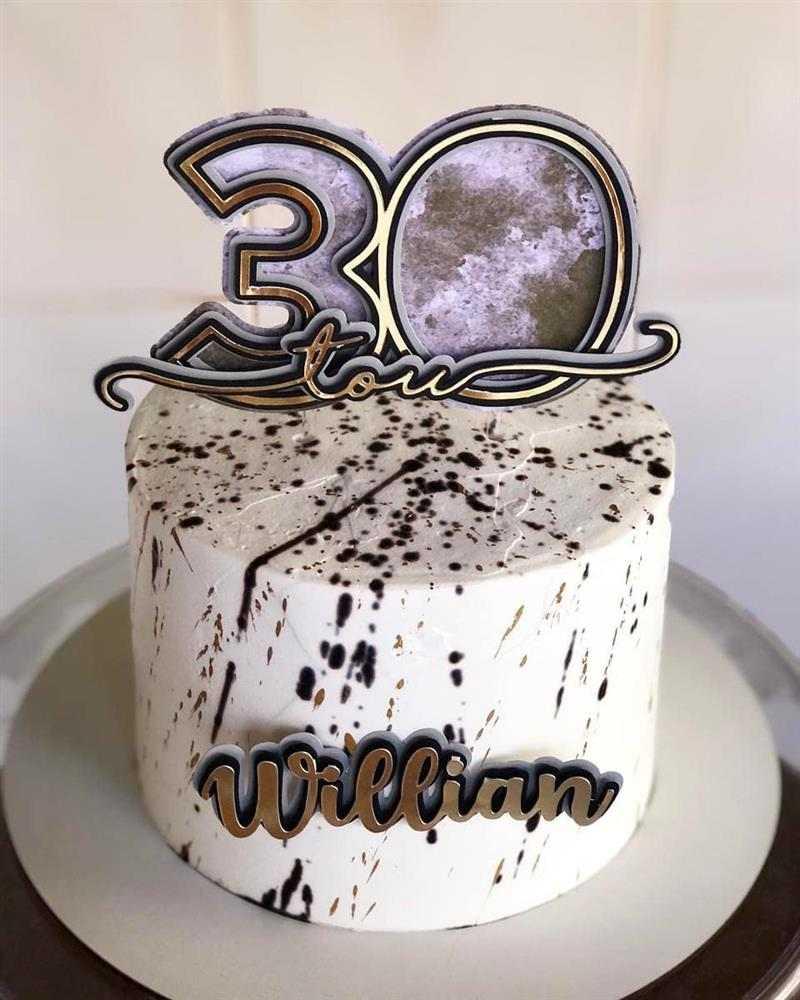 bolo de aniversario para homem 30 anos