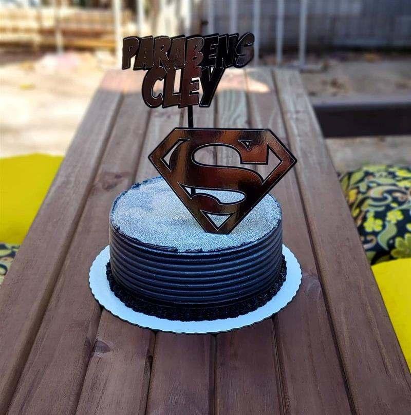 bolo para homem redondo