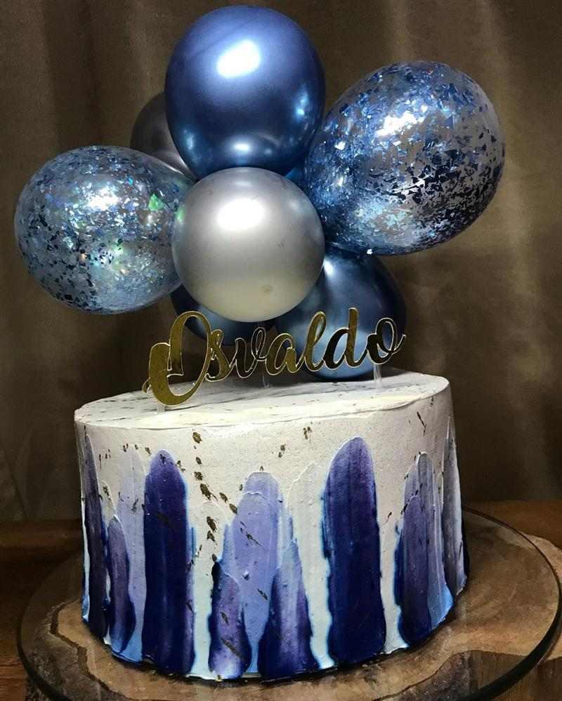 ballon cake luxo