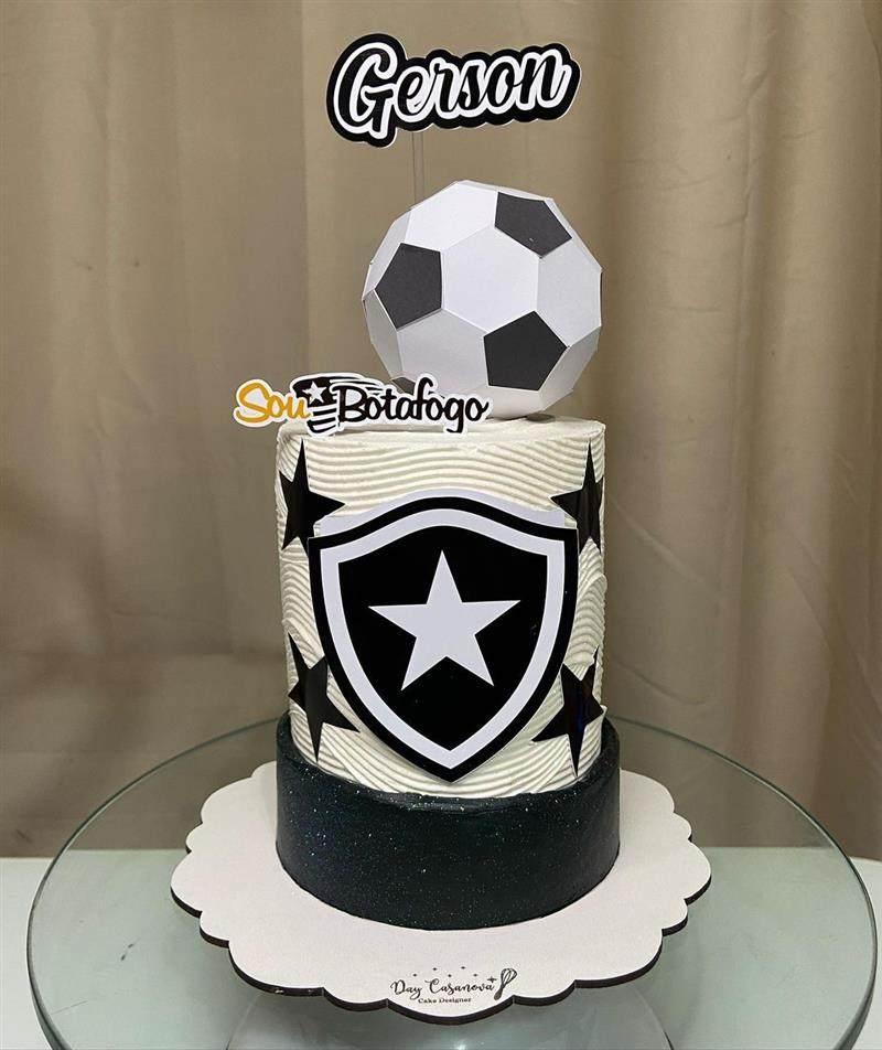 bolo time de futebol botafogo