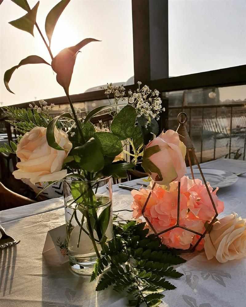 mesa para casamento