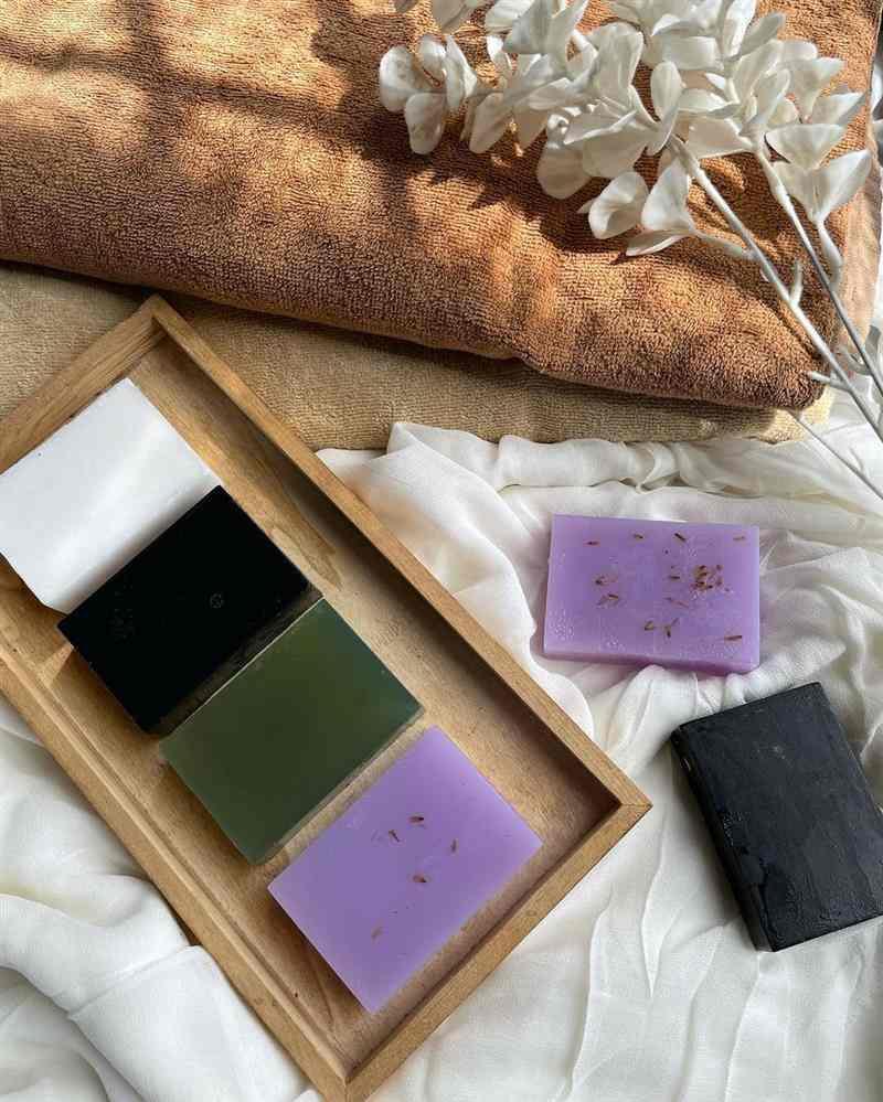 forma para sabonete artesanal em barra