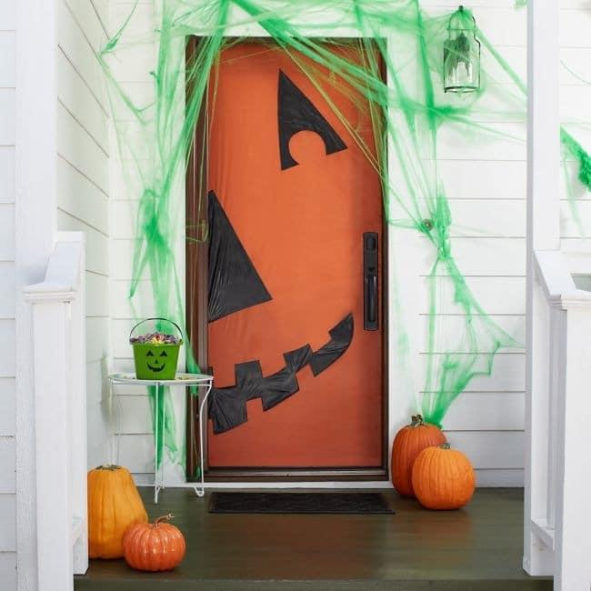 Abóbora na porta