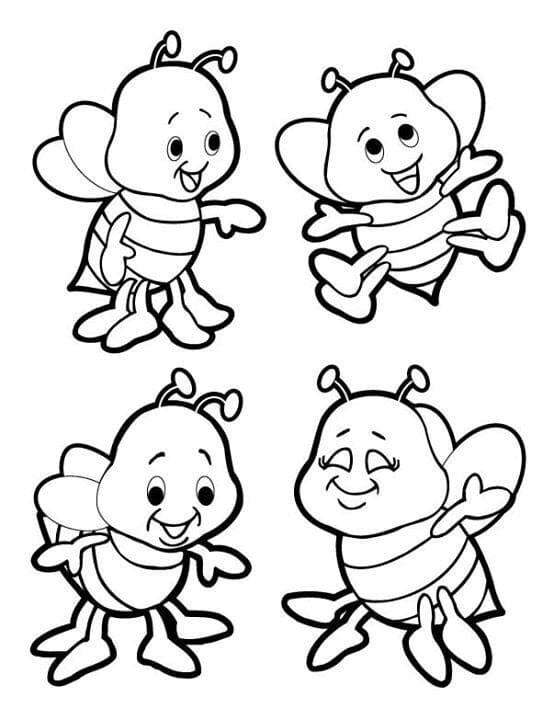 abelhas pequenas