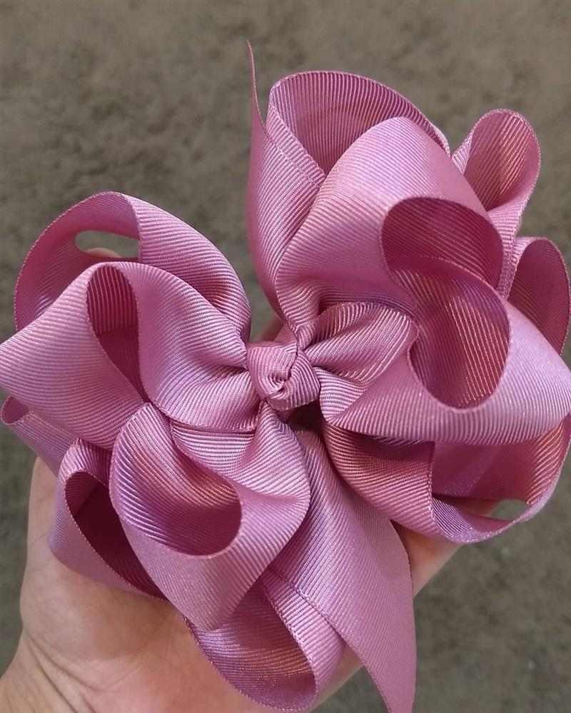 laço grande rosa