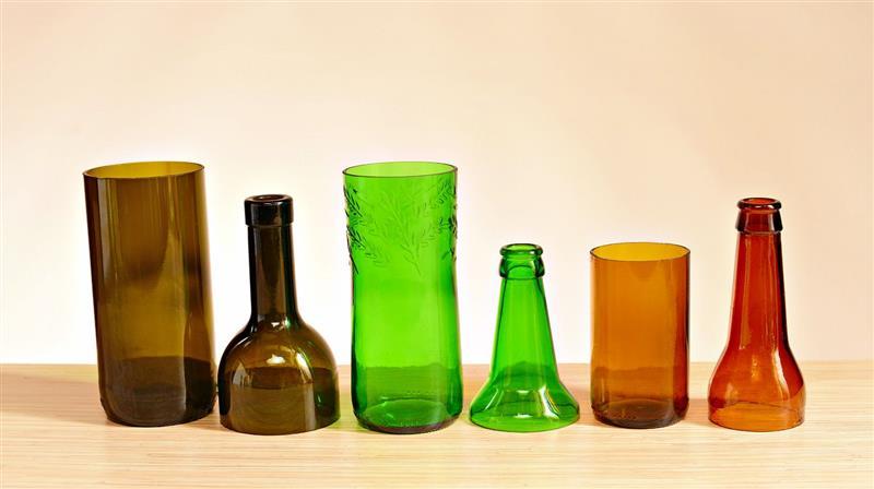 como cortar garrafa de vidro para fazer copo
