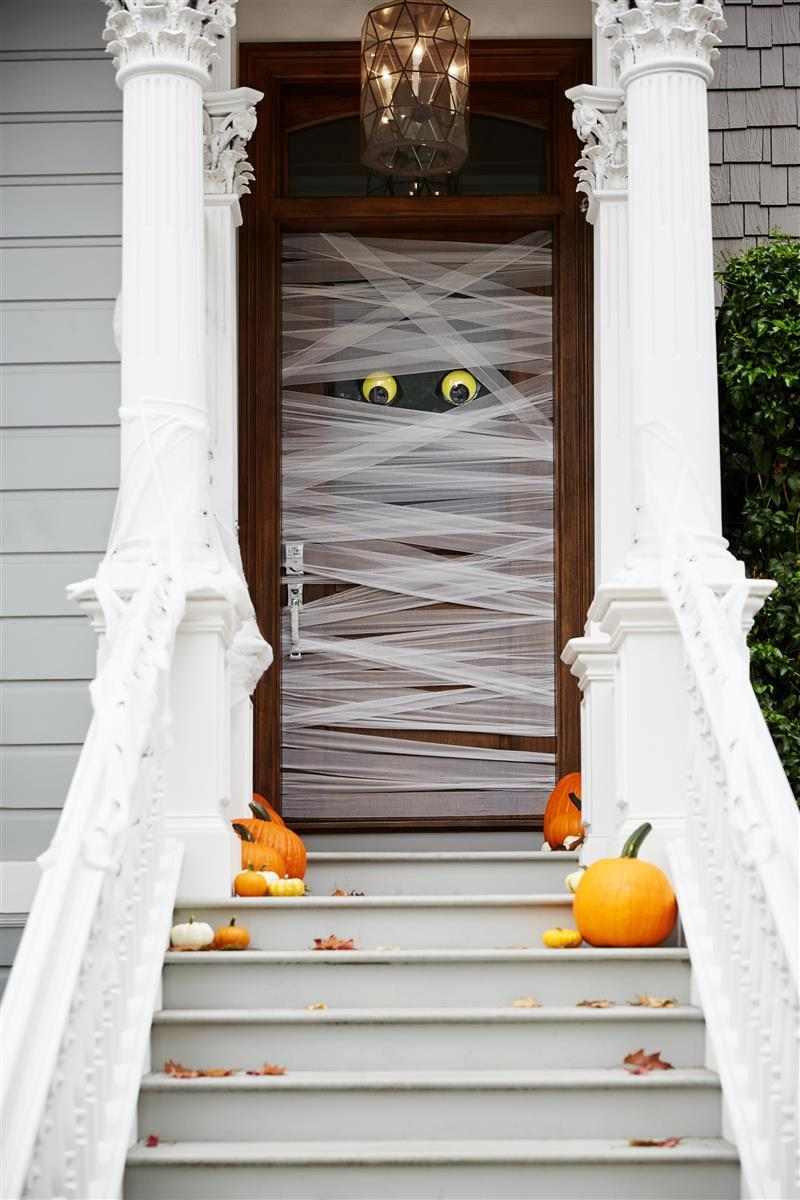 enfeite de porta Halloween
