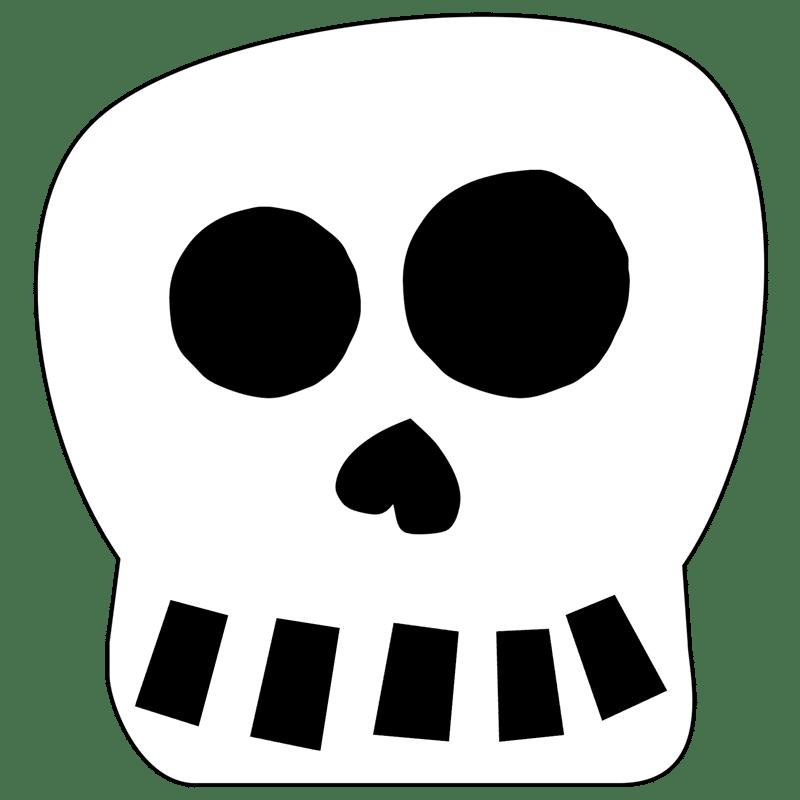 Enfeites de Halloween para imprimir