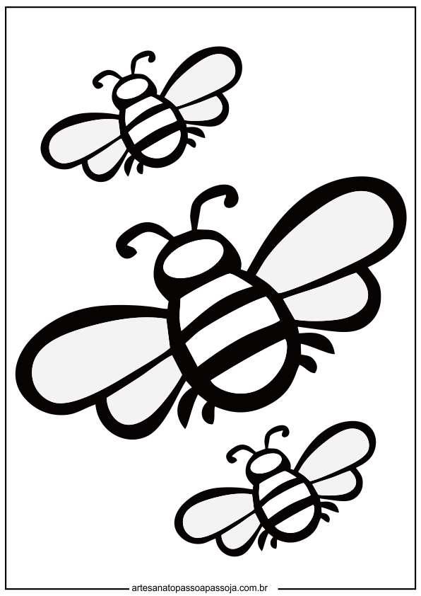 desenhos de abelhas