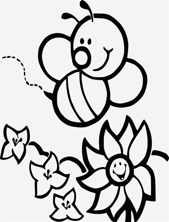 corpo abelha para colorir