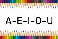 vogais a e i o u