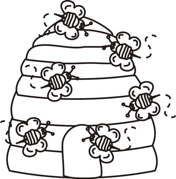 colmeia com abelhas