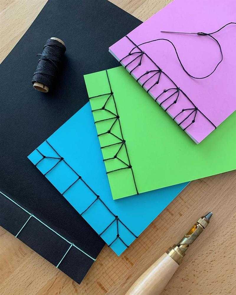 caderno brochura artesanal