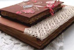 ideias cadernos artesanais
