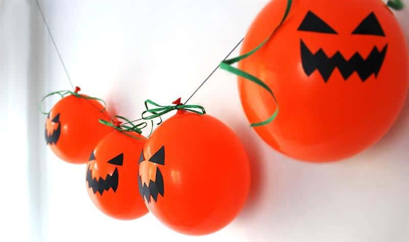 Balões de Halloween