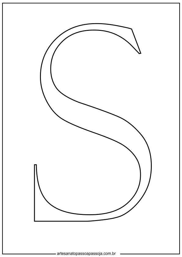 molde letras para feltro