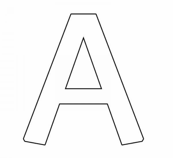 letra de forma