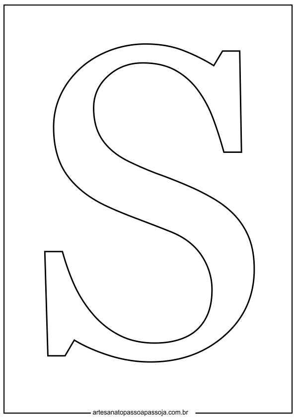 molde letras para eva
