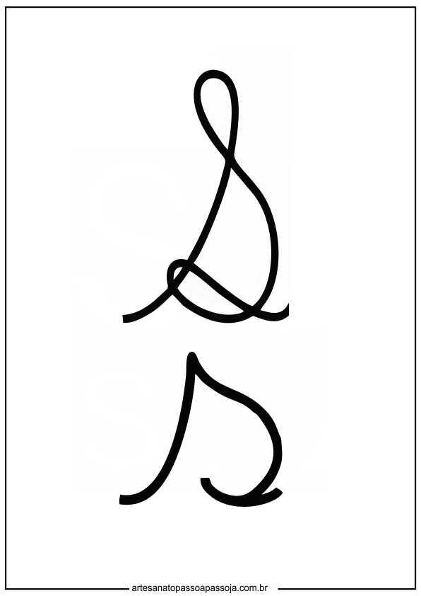 cursiva para educação infantil
