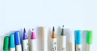 canetas para tecido qual a melhor