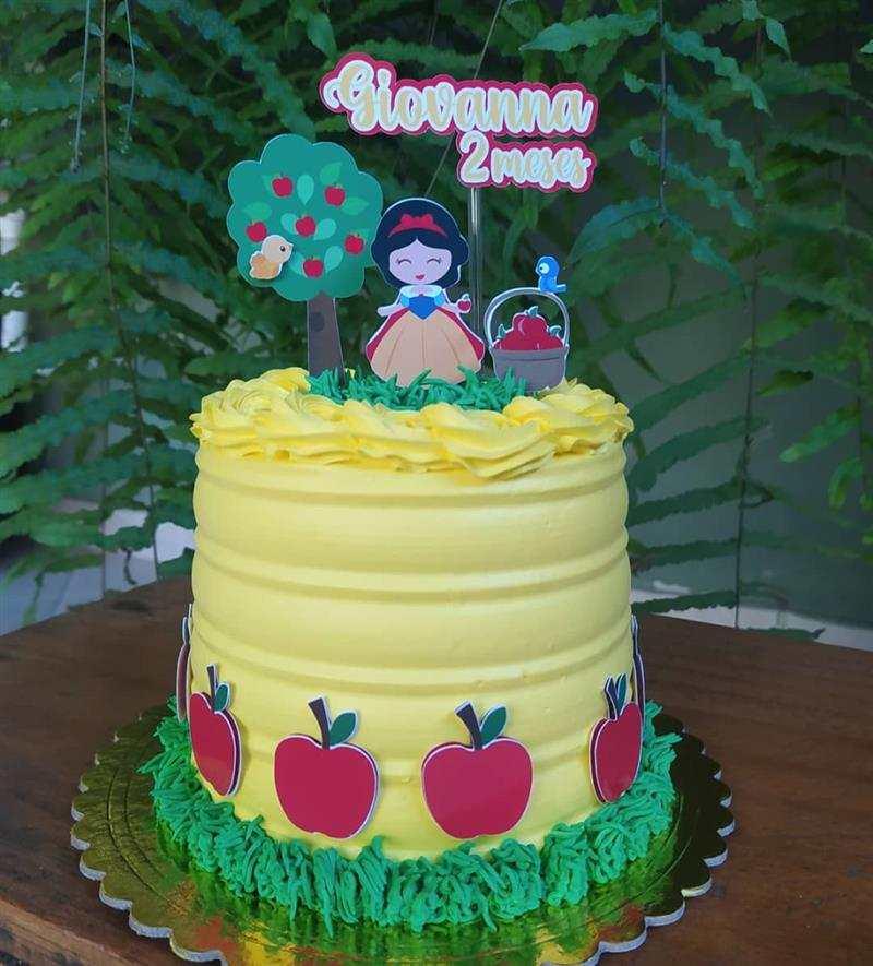 Mini bolo para mesversário