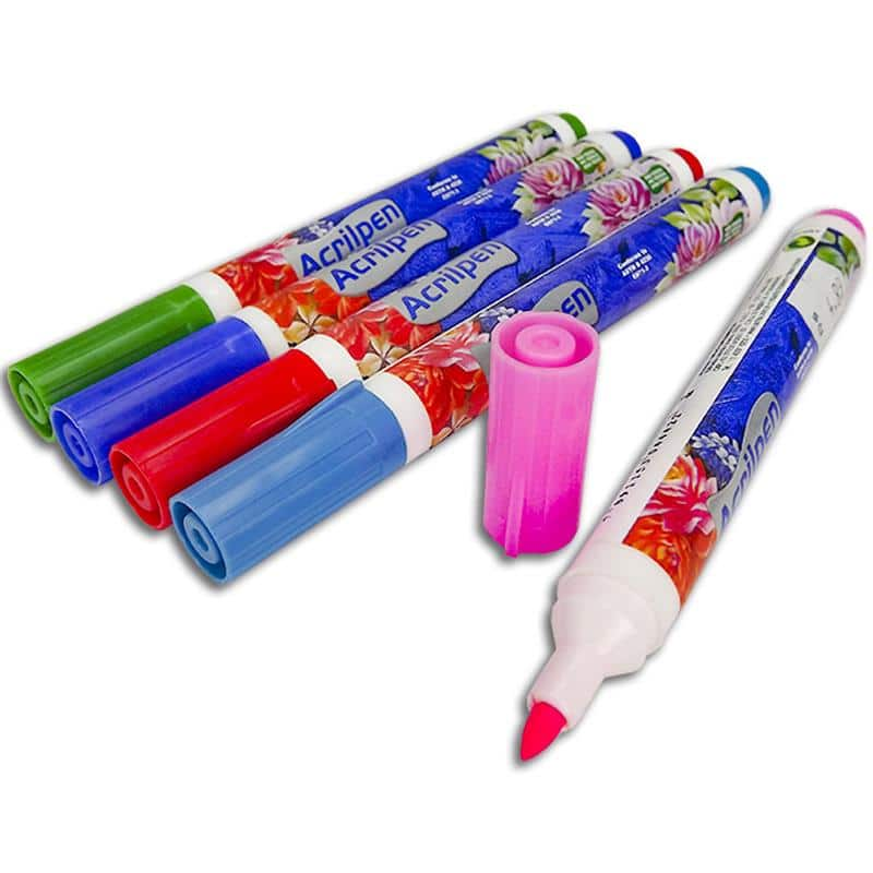 caneta para tecido que sai com água