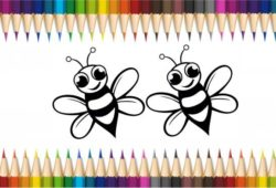 abelhinhas para pintar