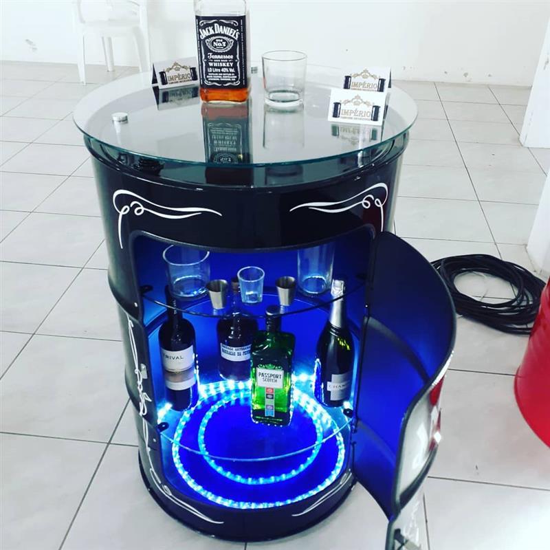modelo bar com led