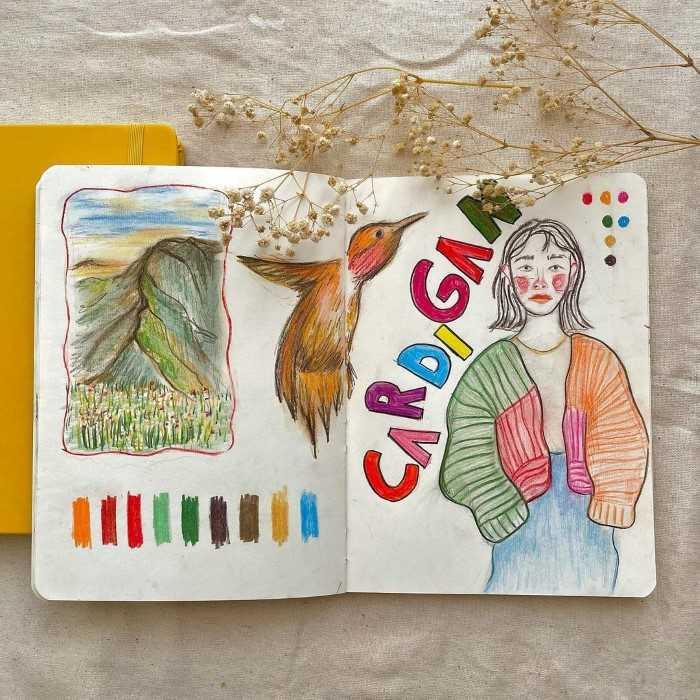 Sketchbook artesanato