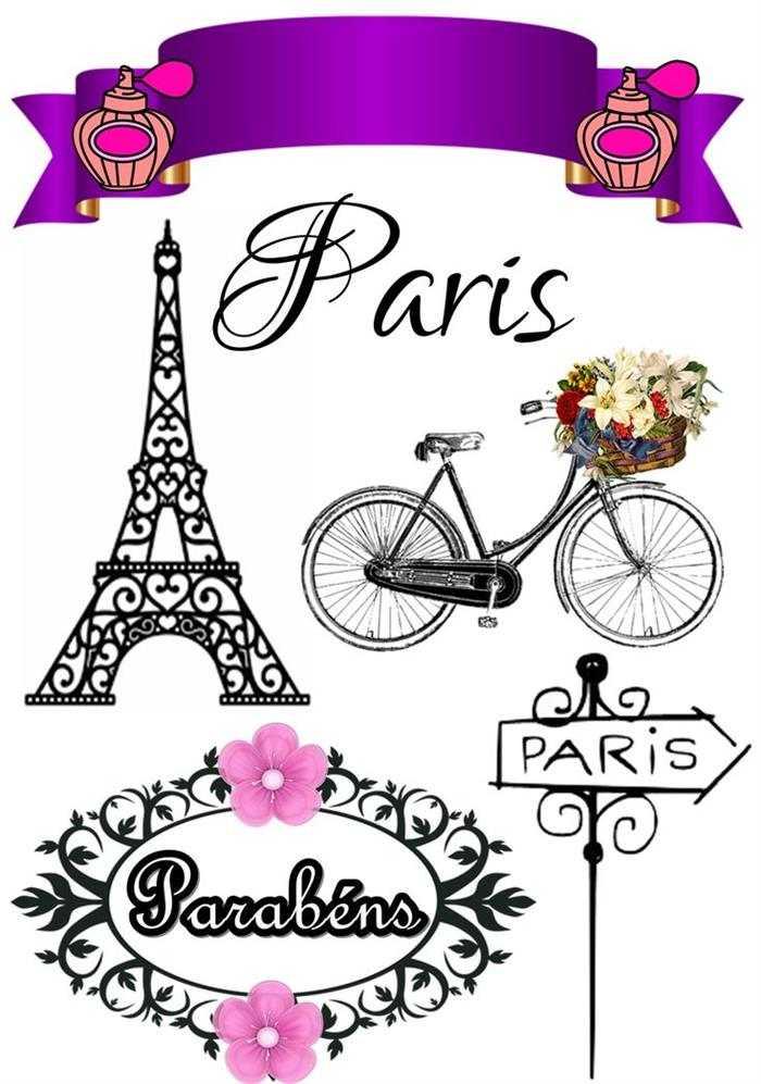 modelo de topo Paris