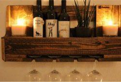 adega de vinhos de pallet