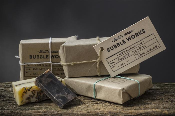 embalagens rusticas para sabonete