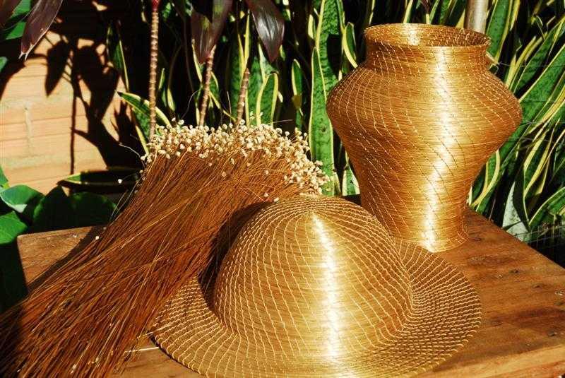capim dourado artesanato