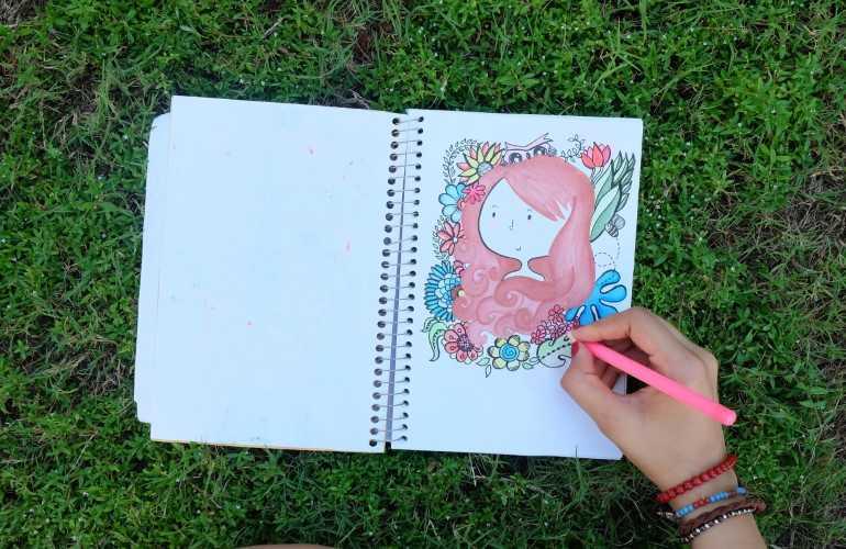 como fazer Sketchbook
