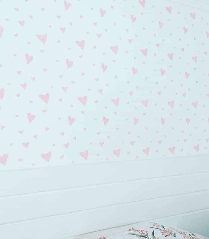 stencil formato coração