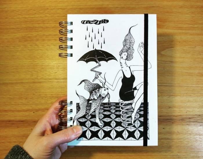 sketchbook desenho