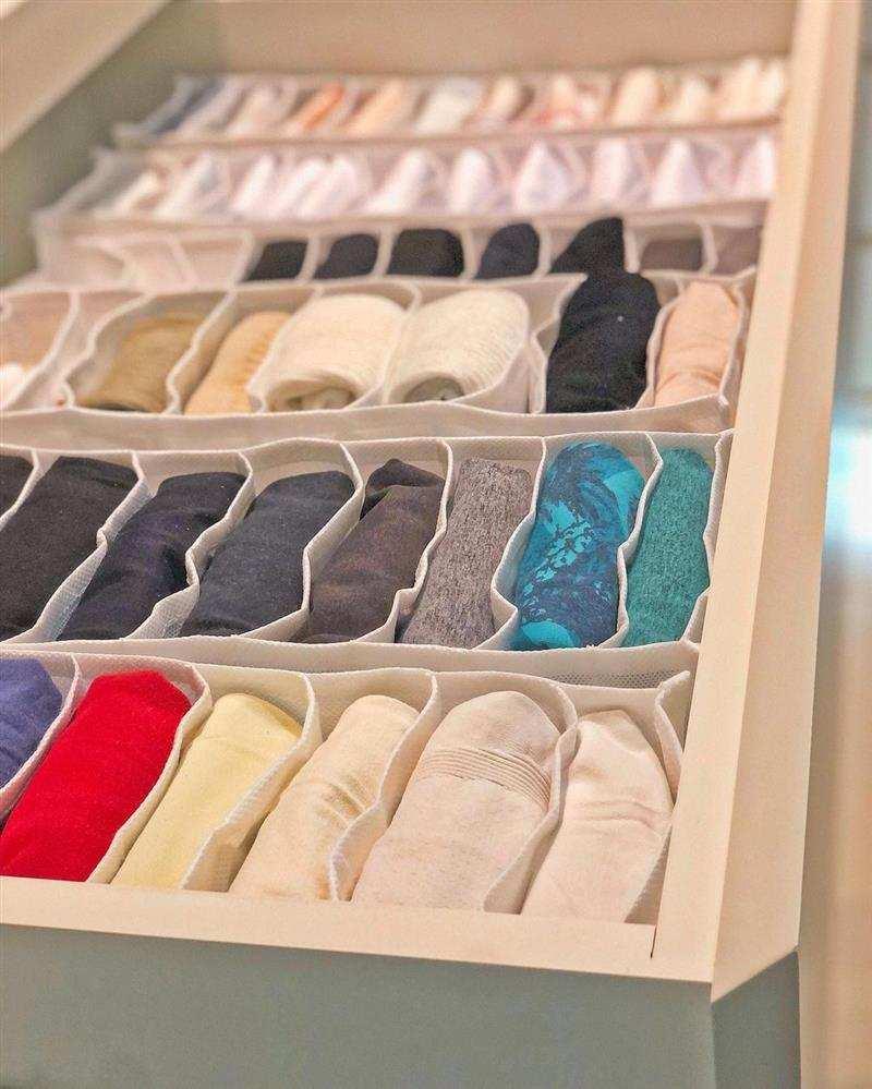 Como fazer um organizador de roupas íntimas
